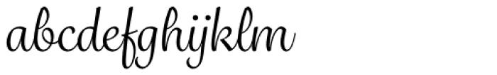 Grafolita Script Font LOWERCASE