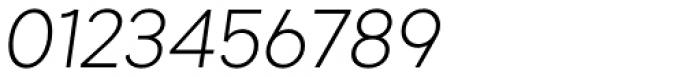 Gramatika Light Italic Font OTHER CHARS