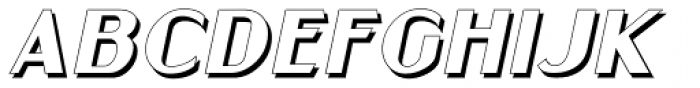 Gramercy Eight Italic JNL Font UPPERCASE
