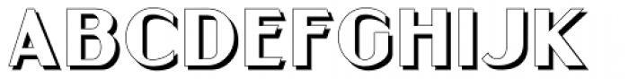 Gramercy Eight JNL Font LOWERCASE
