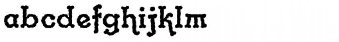 Gramophone Std Font LOWERCASE