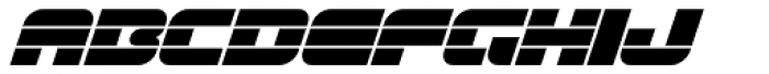 Gran Turismo Extended Italic Font UPPERCASE