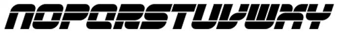 Gran Turismo Italic Font UPPERCASE