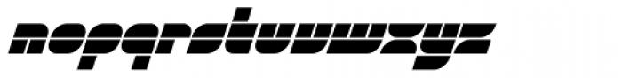 Gran Turismo Italic Font LOWERCASE