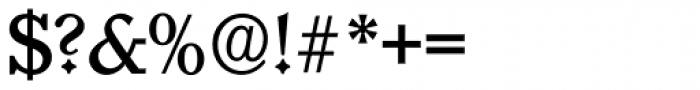 Granada Serial Medium Font OTHER CHARS