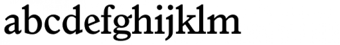 Granada Serial Medium Font LOWERCASE