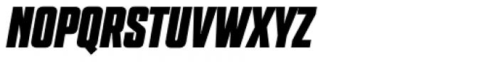 Grand Black Italic Font UPPERCASE