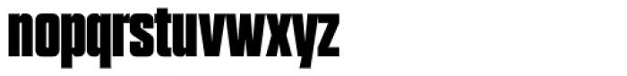Grand Black Font LOWERCASE