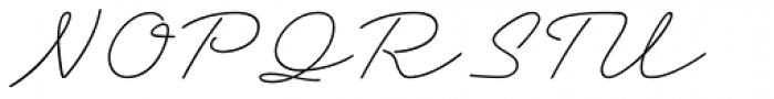 Grandcafe Light Font UPPERCASE