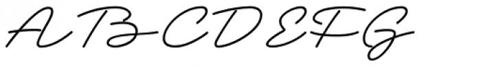 Grandcafe Font UPPERCASE