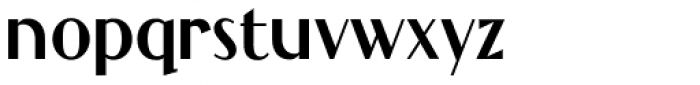 Grandecort Font LOWERCASE