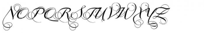 Grandezza Echo Font UPPERCASE