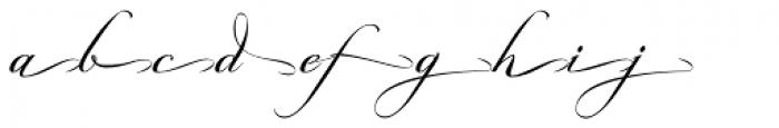 Grandezza Echo Font LOWERCASE