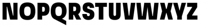 Grandis Condensed Black Font UPPERCASE