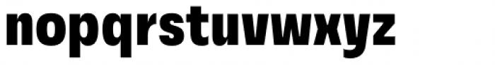 Grandis Condensed Black Font LOWERCASE