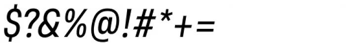 Grandis Condensed Regular Italic Font OTHER CHARS