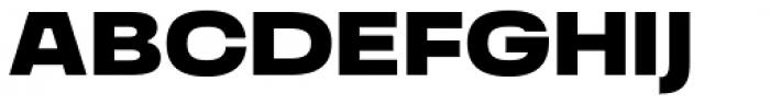 Grandis Extended Black Font UPPERCASE