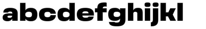 Grandis Extended Black Font LOWERCASE
