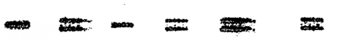 Grandpas Typewriter X Font UPPERCASE