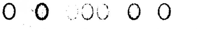 Grandpas Typewriter X Font LOWERCASE