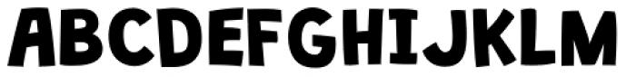 Grandstander Classic Bold Font UPPERCASE