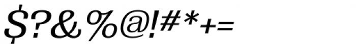 Grange Medium Italic Font OTHER CHARS
