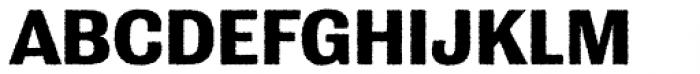 Grange Rough Bold Font UPPERCASE