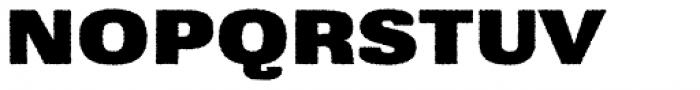 Grange Rough Heavy Extended Font UPPERCASE