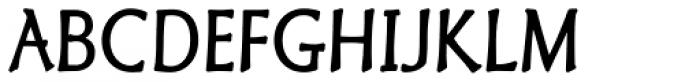Granger Regular Font UPPERCASE