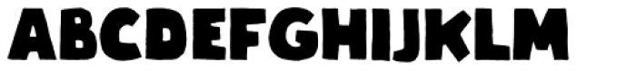 Graphen Heavy Font UPPERCASE