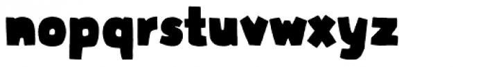 Graphen Heavy Font LOWERCASE