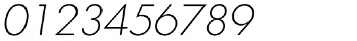 Graphicus DT Light Oblique Font OTHER CHARS