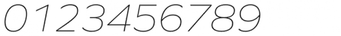 Graphie Thin Italic Font OTHER CHARS