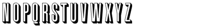 Graphique Font UPPERCASE
