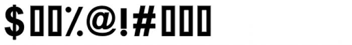 Graphology Arabic Bold Font OTHER CHARS
