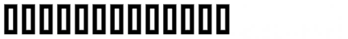 Graphology Arabic Bold Font LOWERCASE