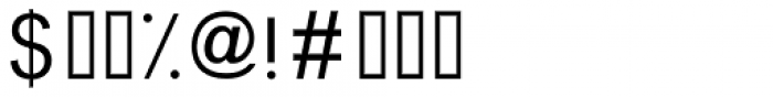 Graphology Arabic Light Font OTHER CHARS