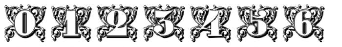 Gras Vibert Decorative Shadow Font OTHER CHARS