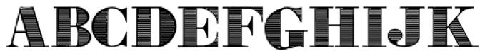 Gras Vibert Handtooled Font UPPERCASE