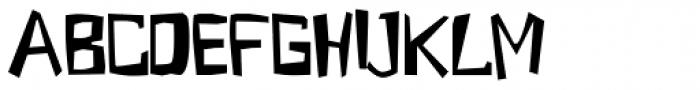 Grasshopper Font UPPERCASE