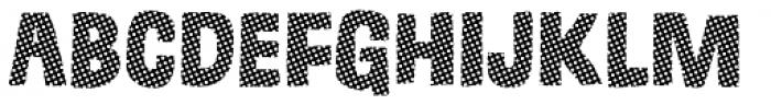 Grateful Circles Font LOWERCASE