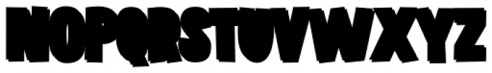 Grateful Clean 3 D Black Font UPPERCASE