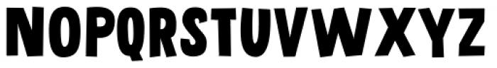 Grateful Clean Font UPPERCASE