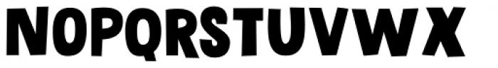 Grateful Clean Font LOWERCASE