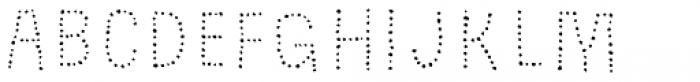 Grateful Dots 2 Font UPPERCASE