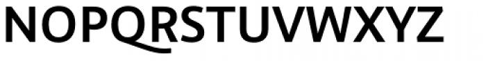Graublau Sans SemiBold Font UPPERCASE