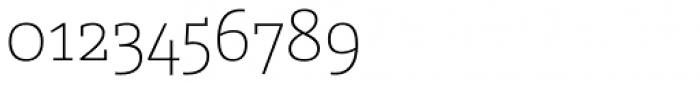 Graublau Slab ExtraLight Font OTHER CHARS