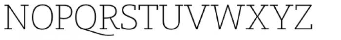 Graublau Slab ExtraLight Font UPPERCASE