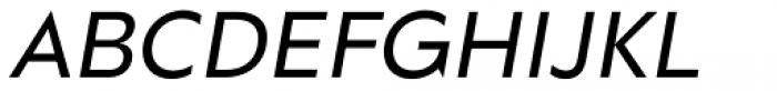 Grava Display Oblique Font UPPERCASE