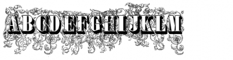 Grave Plus Complete Three Font UPPERCASE
